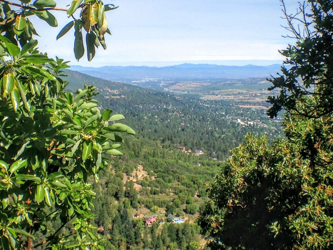 Ashland from White Rabbit trail