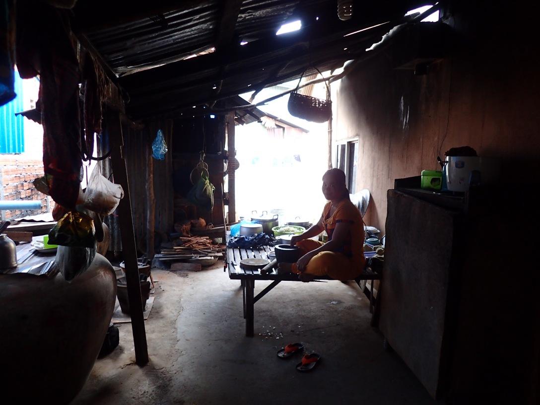 bang srey older sister pre service training PST cambodian kitchen khmer cooking