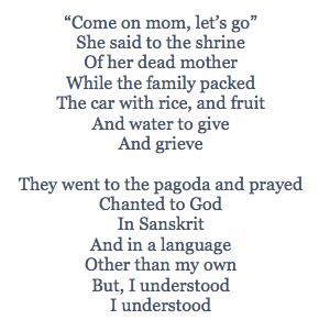 Jenny's Poem